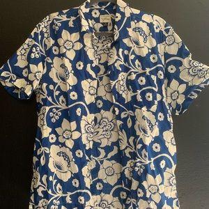 J crew Hawaiian shirt
